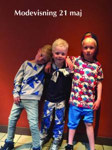 Modevisning barn 21 maj 2016