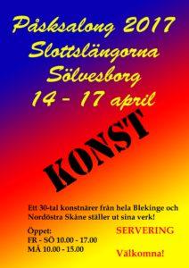 SHOPPING & KONST i unika Sölvesborg