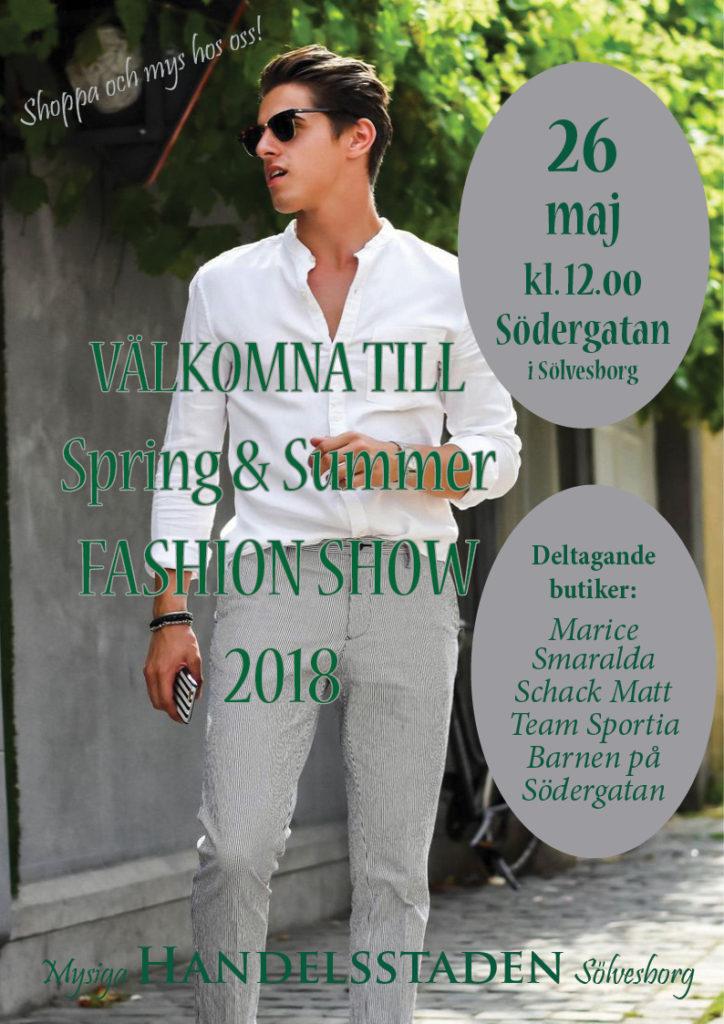 Modevisning maj 2018