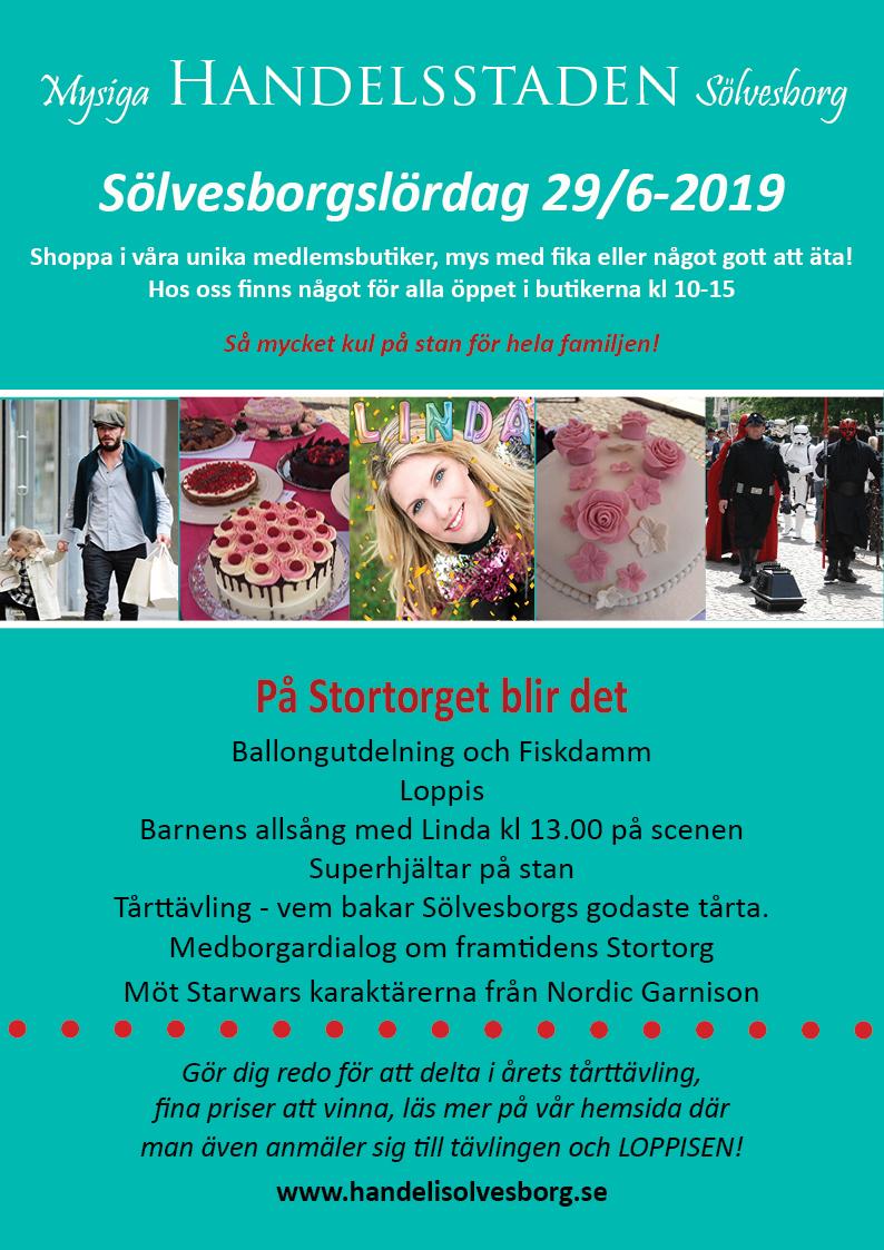 Mys och shoppinglördag i Sölvesborg