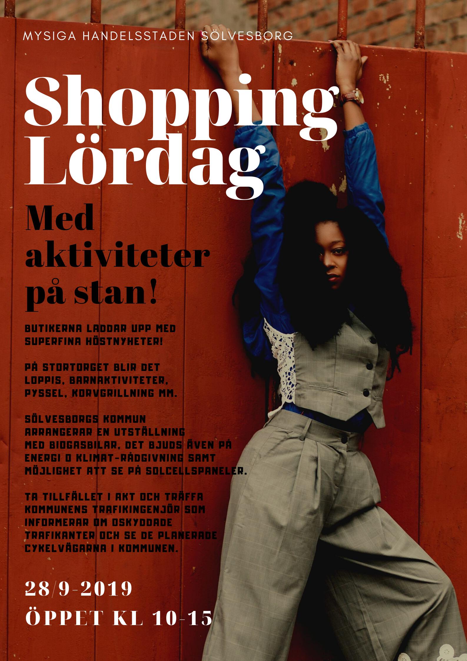 Shoppinglördag i Sölvesborg!