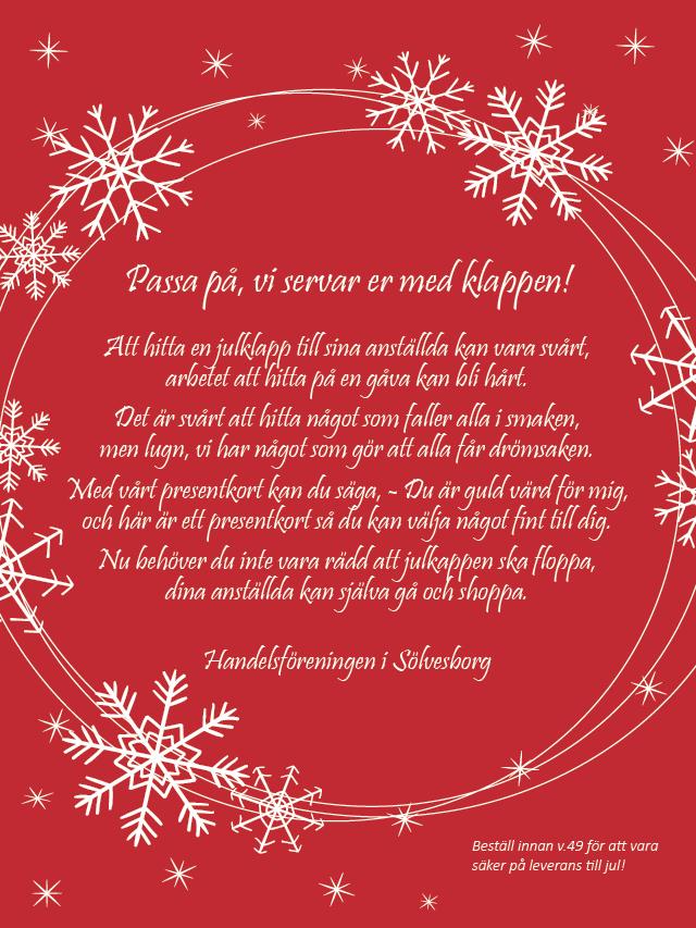 Bästa julklappen till din personal!