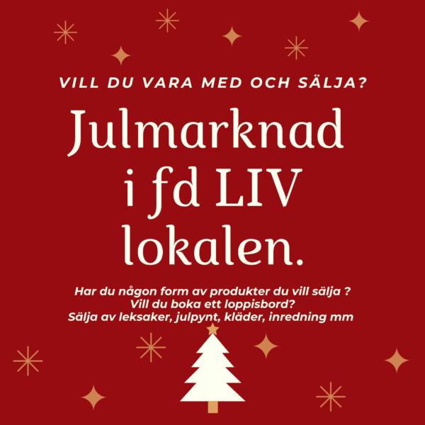 Vill du vara med på vår JULMARKNAD/JULLOPPIS