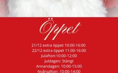 Extra öppet & Final i vår JulYra