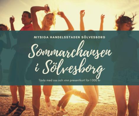 Sommarchansen i Sölvesborg